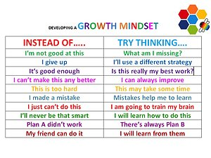 Blogs. growth mindset