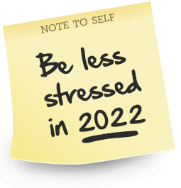 Top Tips, How 2 with AT. Feel Less Stressed 2018